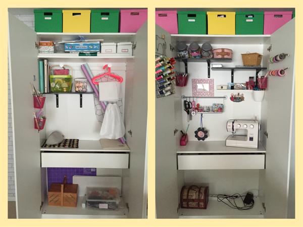 Armario de costura mi nuevo estudio en casa - Ikea armarios modulares ...