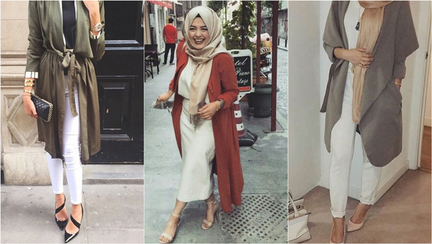 b086fee22 يمكننا القول الآن أن الكارديجان الطويل هو القطعة الرسمية في عالم الحجاب في  الأعوام الأخيرة. ففضلا عن كونه صيحة رائجة بين كبري بيوت الأزياء العالمية،  فإنه ...