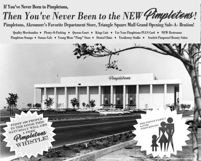 1969 pimpletons opens its triangle square store