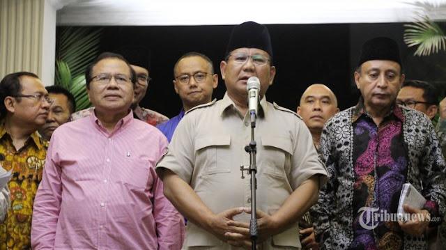 Di Hadapan RR, Prabowo Siap Tembak Kaki Sendiri Jika Terima Duit Dari Kartel Pangan