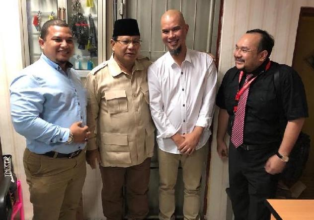 Titiek Soeharto Dan Sejumlah Tokoh Siap Menjadi Penjamin Ahmad Dhani
