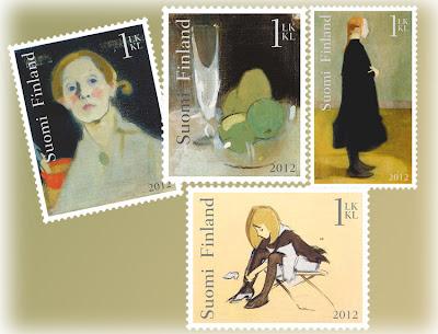 postimerkki suomi 2012