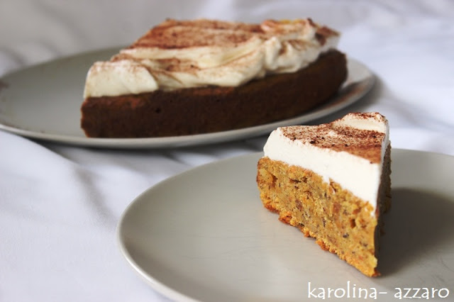 Carrot Cake s maple krémom (Mrkvový koláč