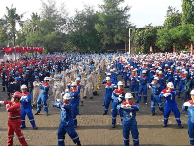 Pecahkan Rekor MURI, 1.853 Peserta Meriahkan Senam APD Pertamina di Cilacap
