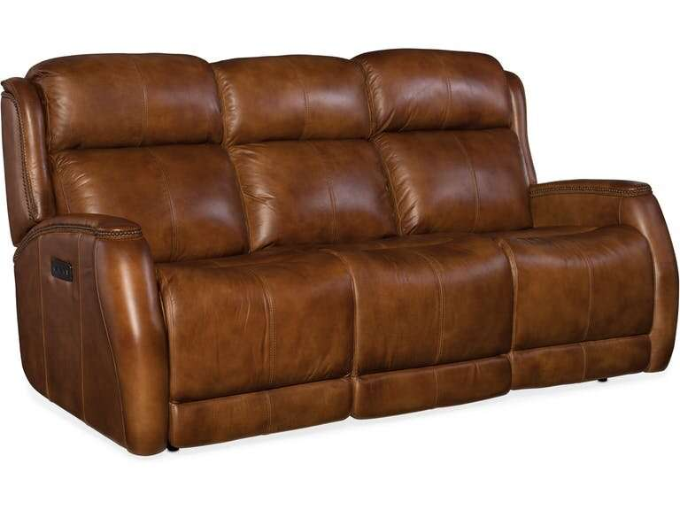 Review Emerson Leather Reclining Sofa Traditional Sofas Ghd