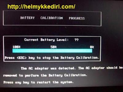 Cara kalibrasi baterai laptop agar kembali baru6