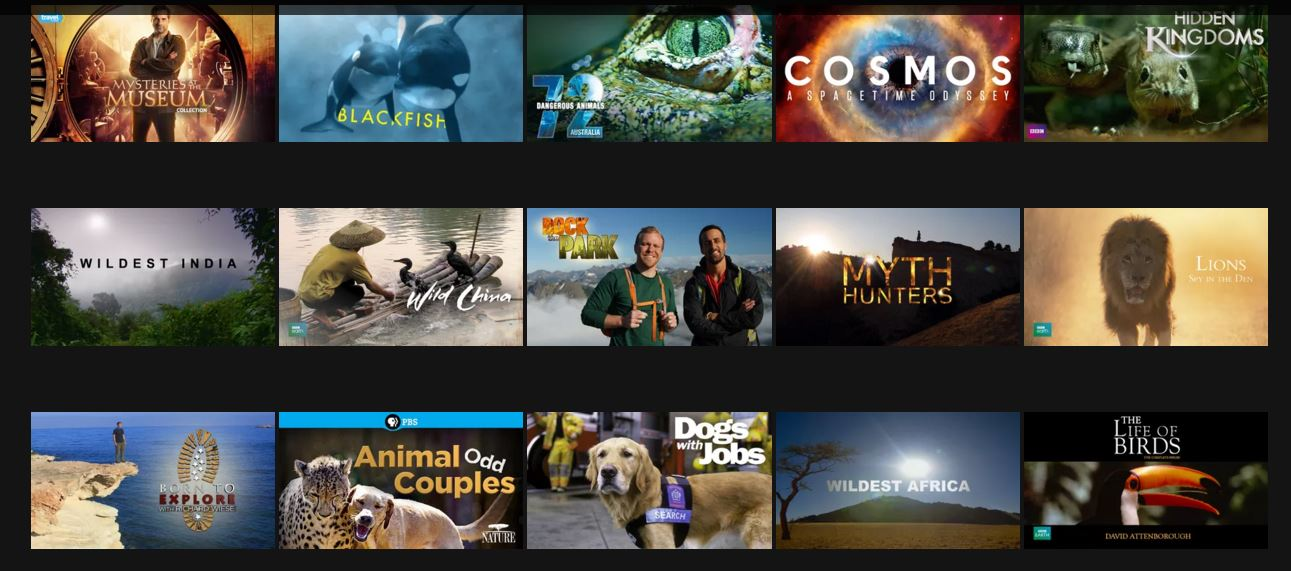 Animal documentaries on netflix