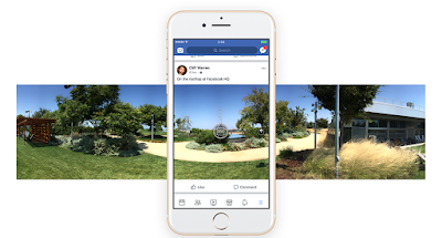Facebook menambahkan kemampuan menangkap gambar 360 derajat, facebook, fitur facebook terbaru, dukungan konten facebook, facebook photo, Facebook menambah kwalitas daya tangkap gambar, gambar facebook