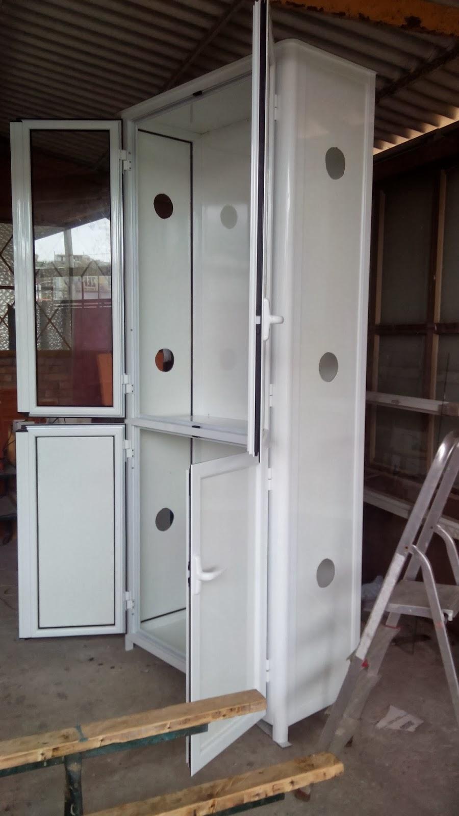 Infissi in alluminio armadio per esterno - Armadi per esterno in legno ...
