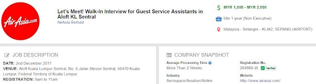 Guest Service Assistant - KLIA2