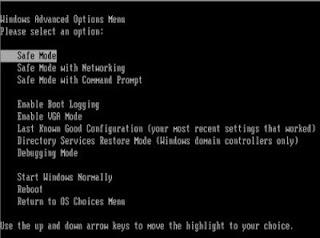 Fungsi safe mode windows 7,8, xp,10