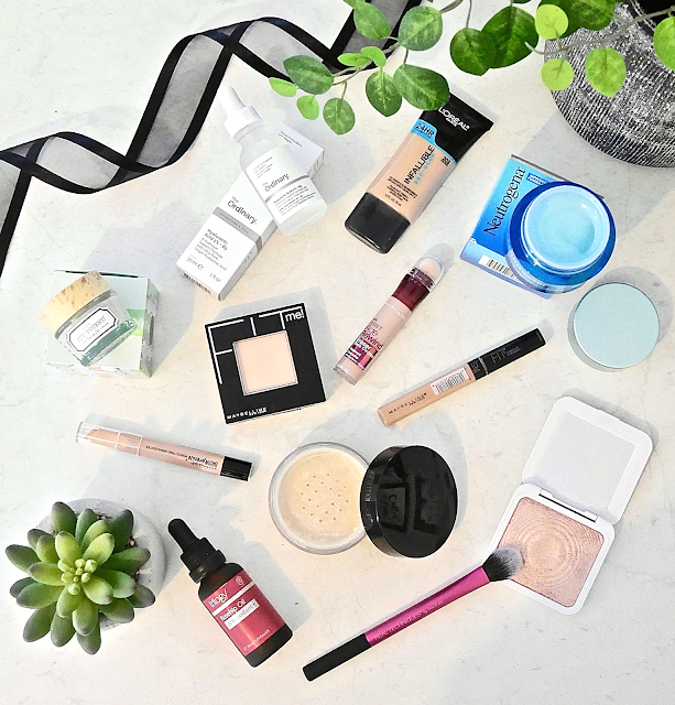 A high-end and drugstore collective haul