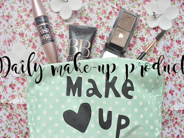 What's in my daily make-up bag? | Beauty