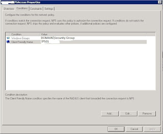 NPS client friendly name