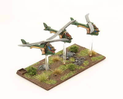 2nd place: Dwarf Gyrocopters, by fred. - wins £10 Pendraken credit!