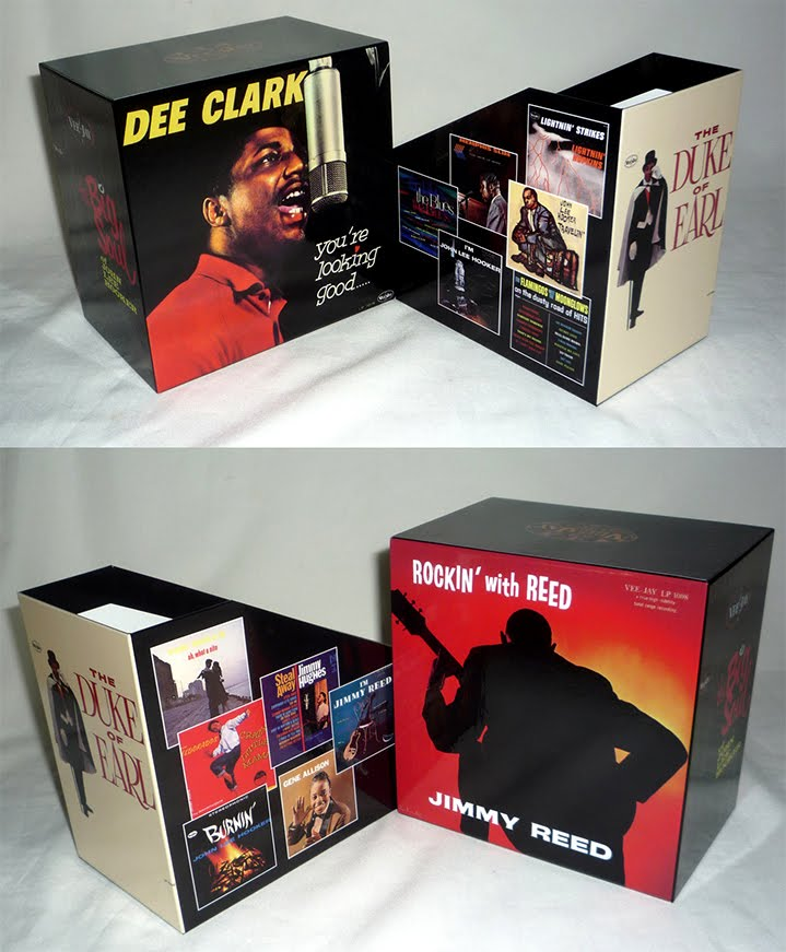 Vee-Jay Blues & R&B Promo Box