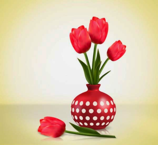 Create Detailed Tulips With Gradient Mesh, Without the Mesh Tool