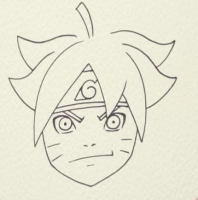 How to Draw Boruto