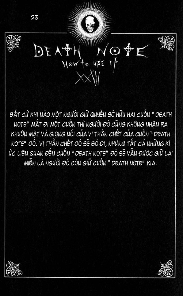 Death Note chapter 110 - how to use trang 26