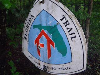 National Scenic Trail: Florida Trail Trailhead Marker