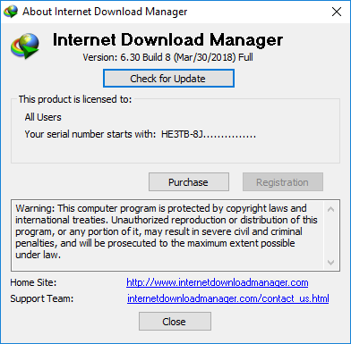 Internet Download Manager IDM 6.30 Build 8 Crack