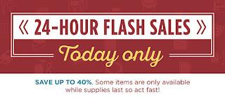 24 Stunden Sale Artikel - nur solange der Vorrat reicht