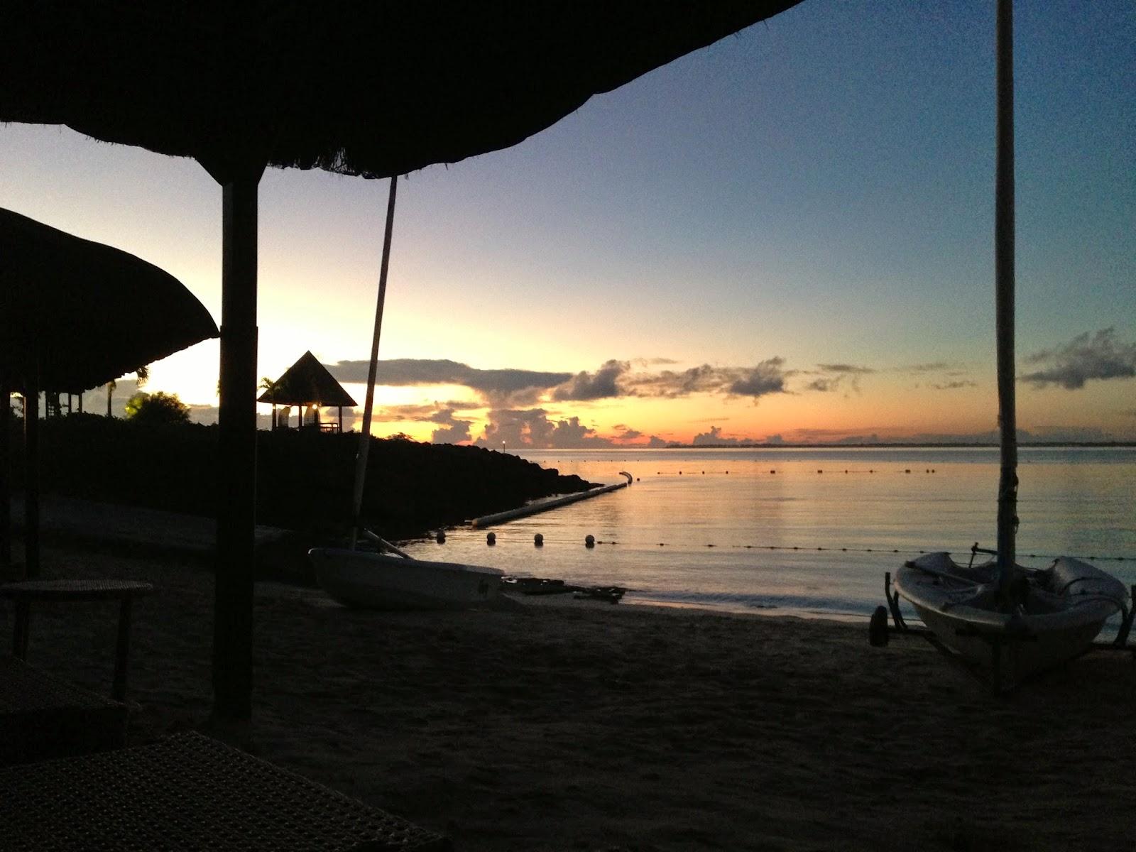 Sunrise, Shangrila Mactan Resort & Spa, Cebu, Philippines