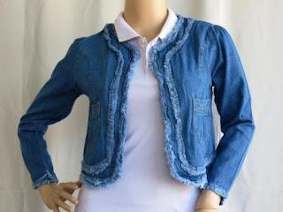 Atasan Jeans Terbaru AJ935