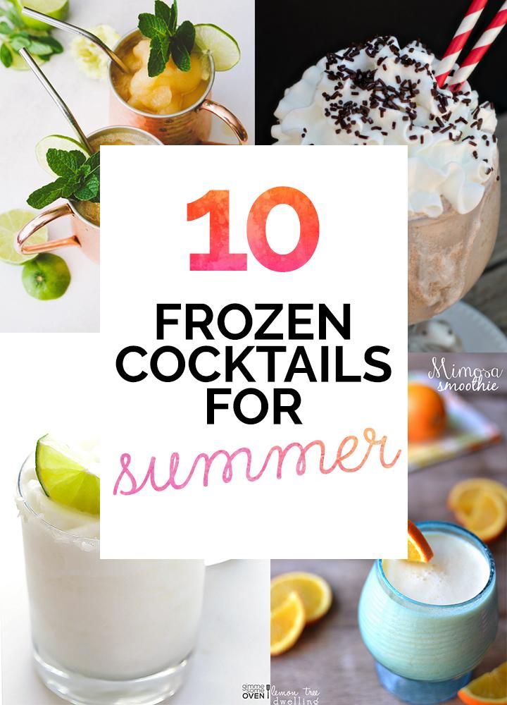 Summertime Frozen Cocktail Recipe