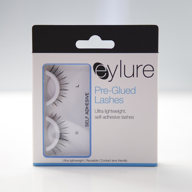 Pre-glued eyelashes by Eylure