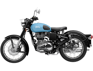 Royal Enfield Classic 350 Redditch Blue Color 2018 Image