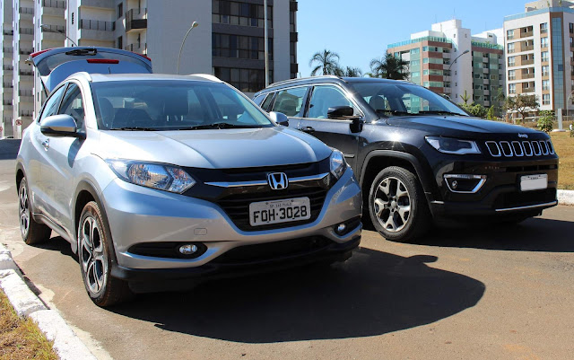 Jeep Compass Flex ou Honda HR-V