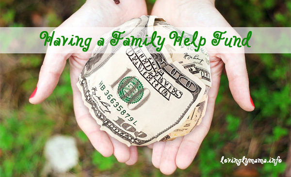 family help fund - family budget - charity - money - finances