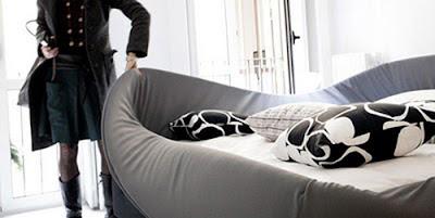 Diseño de cama genial.