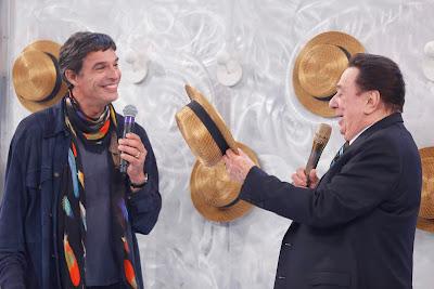 Raul Gil e Olivier Anquier (Crédito: Rodrigo Belentani/SBT)