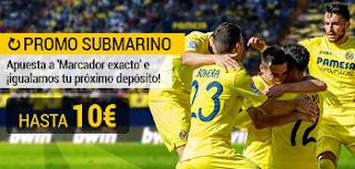 bwin promocion Villarreal vs Éibar 1 abril