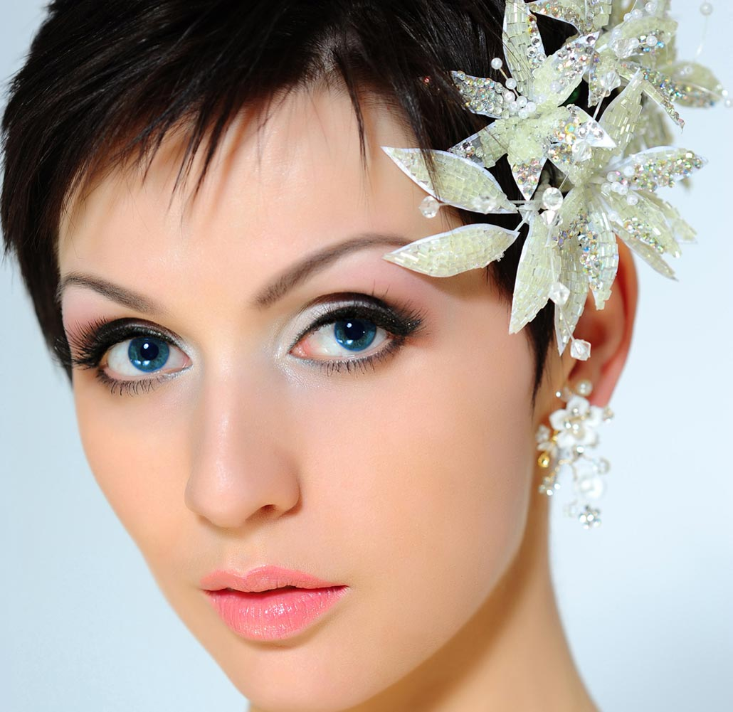 A New Life Hartz: Short Wedding Hairstyles