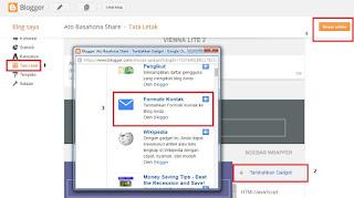 Cara Membuat Formulir Contact Us Di Blogspot