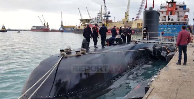 Στην Αλβανία ξανά τουρκικό υποβρύχιο - Η τουρκική βάση στον Αυλώνα
