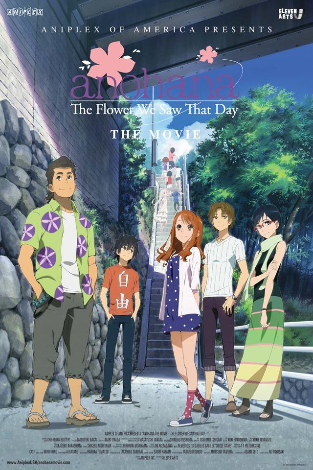 cover anime Ano Hi Mita Hana no Namae wo Boku-tachi wa Mada Shiranai