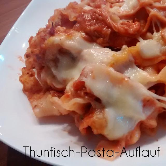 [Food] Thunfisch-Pasta-Auflauf