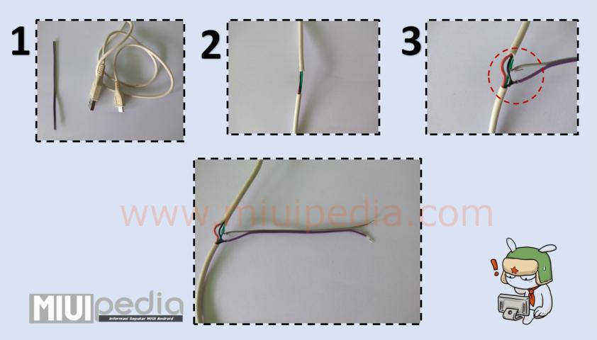 cara membuat kabel DFC Qualcomm Xiaomi