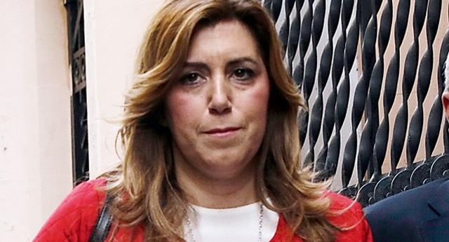 Abucheos a Susana Díaz en su visita a Castilla y León