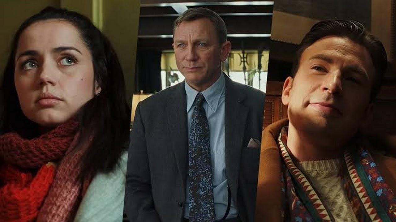 Rian Johnson trabalhando na sequência de Entre Facas e Segredos com Daniel Craig