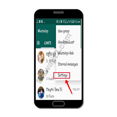 whatsapp number change kaise karte hain