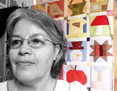 Alejandra Balanzario quilter