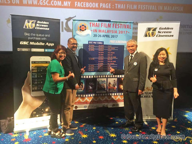 thai film festival malaysia 2017 press conference