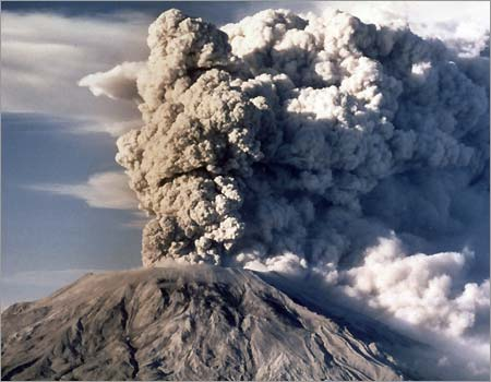 Mt St Helens Ash Ring