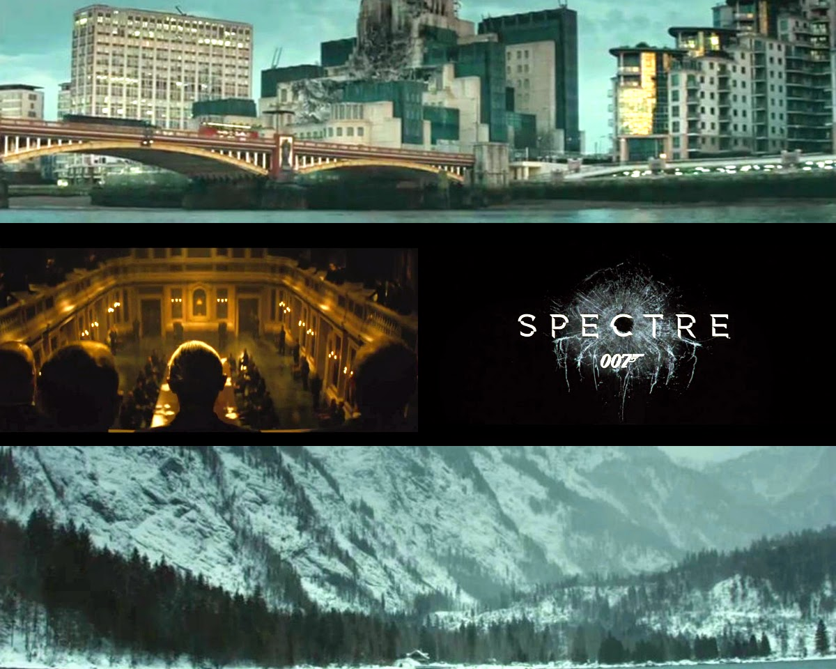 'Spectre' Teaser ~ Trailer cu James Bond ~ Un secret intunecat