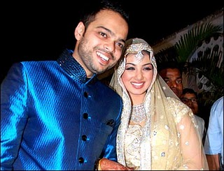 Ayesha Takia Wedding Dress
